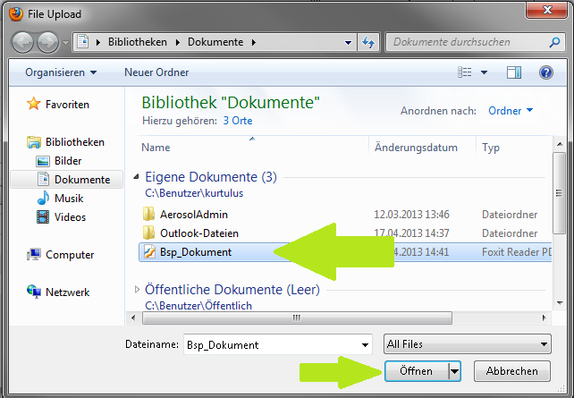 MS Word 2010 Dokumentinformationen